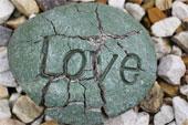 Love carved in stone